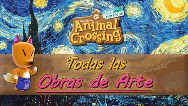 TODAS las obras de arte reales y falsas de Animal Crossing: New Horizons