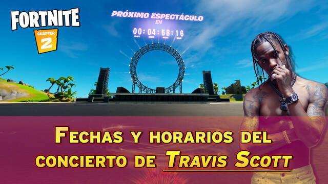 Concierto Travis Scott en Fortnite