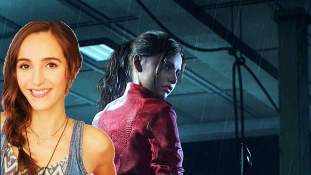Actriz de Claire y Resident Evil