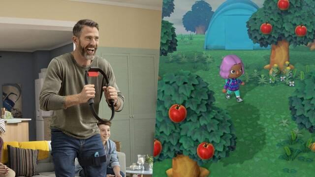 Animal Crossing Ring Fit Ventas Reino Unido