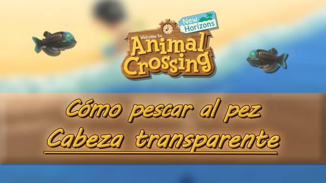 Cómo pescar al Pez cabeza transparente en Animal Crossing: New Horizons