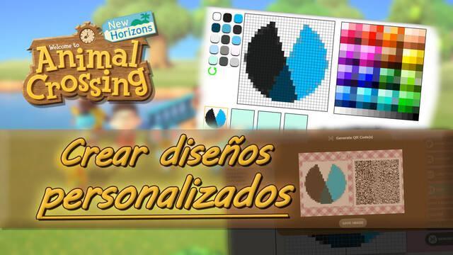 Cómo crear diseños propios en Animal Crossing: New Horizons
