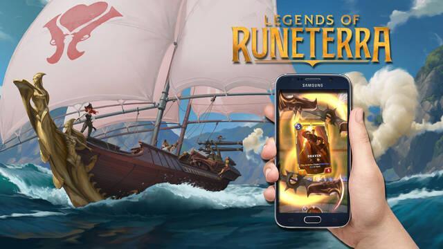 Requisitos mínimos legends of runeterra en móviles