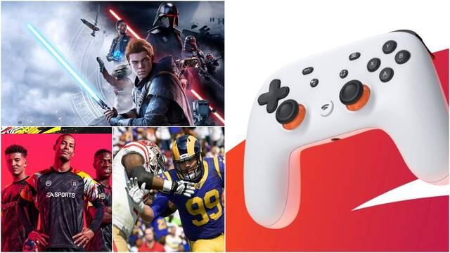 Los juegos de EA llegarán a Stadia este mismo año.