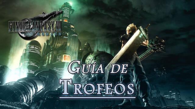 Guía de trofeos Final Fantasy VII Remake (PS4): - Cómo conseguirlos TODOS