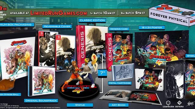 Streets of Rage 4 edición para coleccionistas