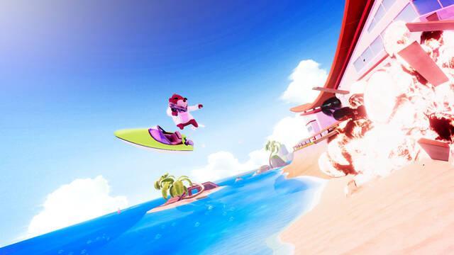 Wave Break se estrenará en Stadia, pero llegará también a Steam.