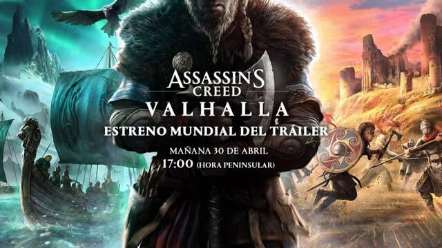 Retransmisión primer tráiler de Assassin's Creed Valhalla