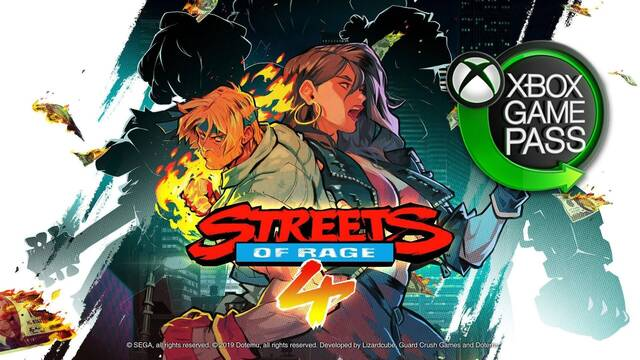 Streets of Rage 4 Xbox Game Pass