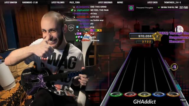 Guitar Hero 3 y un impresionante récord