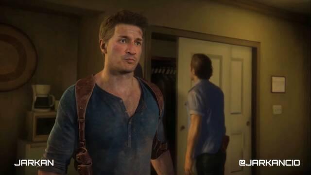 Nathan Fillion en Uncharted 4