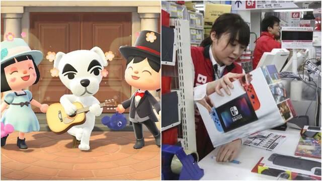 Switch y Animal Crossing siguen triunfando en Japón