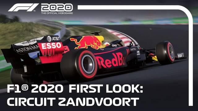 F1 2020 se muestra en movimiento por primera vez.