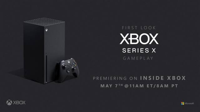 Xbox Series X se mostrará por primera vez el 7 de mayo en una presentación centrada en los juegos.