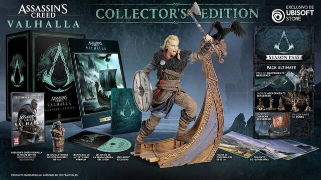 Ediciones coleccionista de Assassin's Creed: Valhalla.