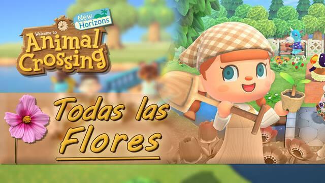 Todas las flores y cómo conseguirlas en Animal Crossing: New Horizons