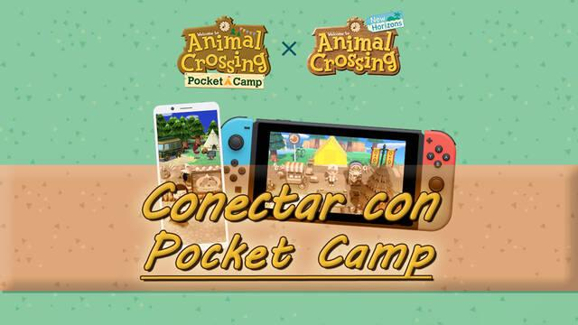 ¿Cómo conectar Animal Crossing: New Horizons con Pocket Camp?