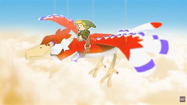 The Legend of Zelda  al estilo Paper Mario