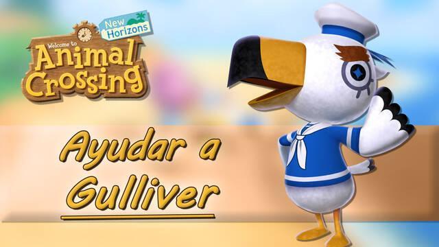 Dónde encontrar las piezas del comunicador de Gulliver en Animal Crossing New Horizons