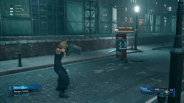 Capitán Gonga  y cómo derrotarlo en Final Fantasy VII Remake