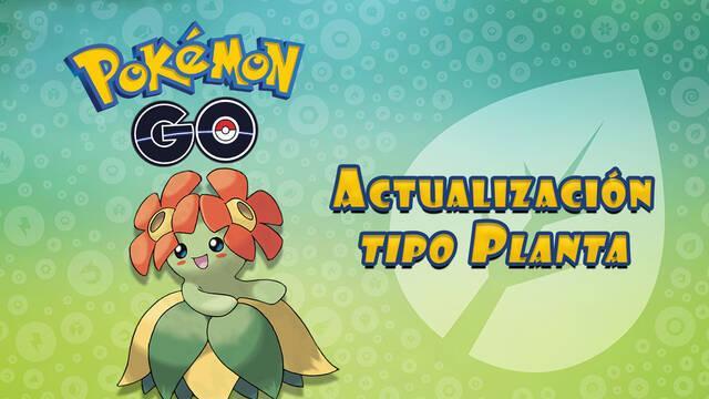 actualización tipo planta Pokémon Go