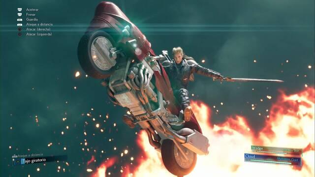 Roche (motocicleta)  y cómo derrotarlo en Final Fantasy VII Remake