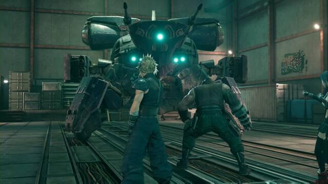 Megacañón guardián  y cómo derrotarlo en Final Fantasy VII Remake