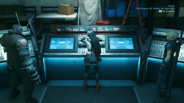 Palancas del almacén en Final Fantasy VII Remake: como jugar y recompensas