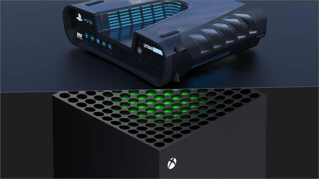 PS5 potencia Xbox series x crytek