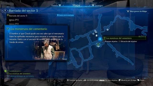 Los monstruos del cementerio en Final Fantasy VII Remake - Cómo completarla