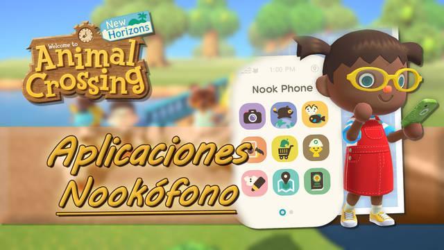 Aplicaciones del Nookófono en Animal Crossing: New Horizons