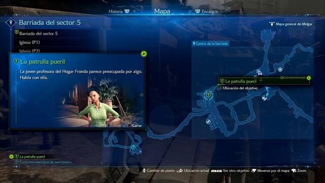 La patrulla pueril en Final Fantasy VII Remake - Cómo completarla