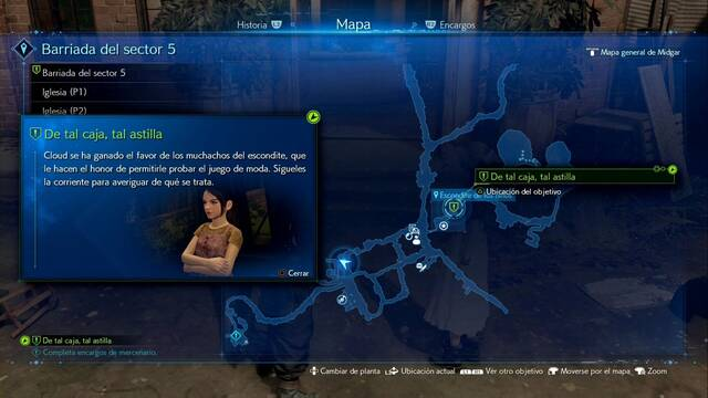 De tal caja, tal astilla en Final Fantasy VII Remake - Cómo completarla