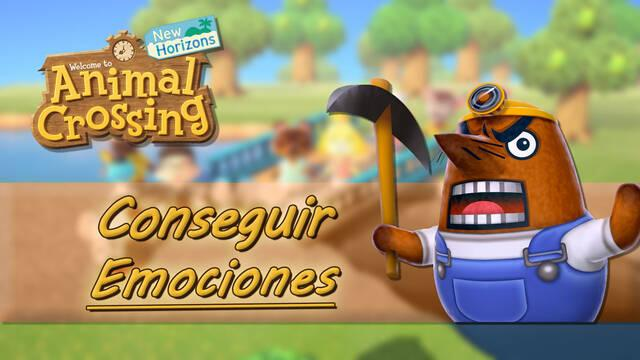 Cómo desbloquear emociones en Animal Crossing: New Horizons