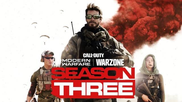 La tercera temporada de Call of Duty: Modern Warfare comienza este miércoles.