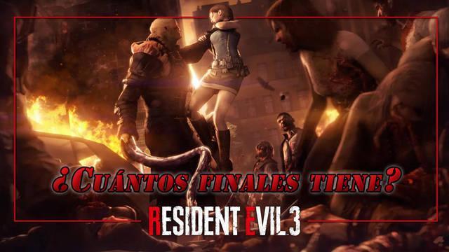 ¿Cuántos finales tiene Resident Evil 3: Remake?
