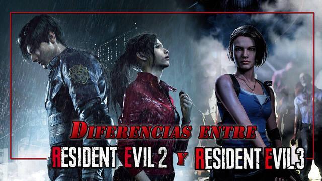 Diferencias entre Resident Evil 3: Remake vs Resident Evil 2: Remake