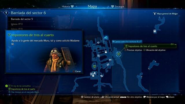Impostores de tres al cuarto en Final Fantasy VII Remake - Cómo completarla
