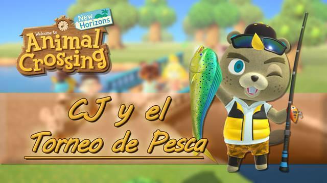 Torneo de pesca de CJ y recompensas en Animal Crossing New Horizons