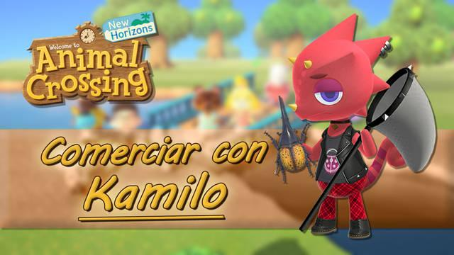 Kamilo en Animal Crossing New Horizons: horario y localización