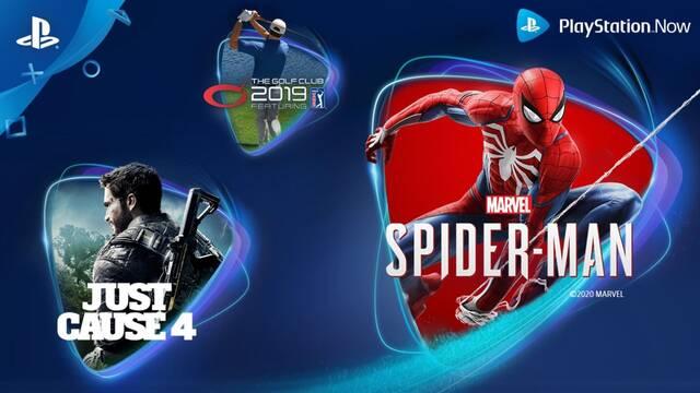 Juegos de abril para PS Now.