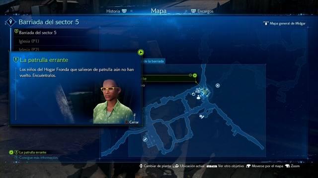 La patrulla errante en Final Fantasy VII Remake - Cómo completarla
