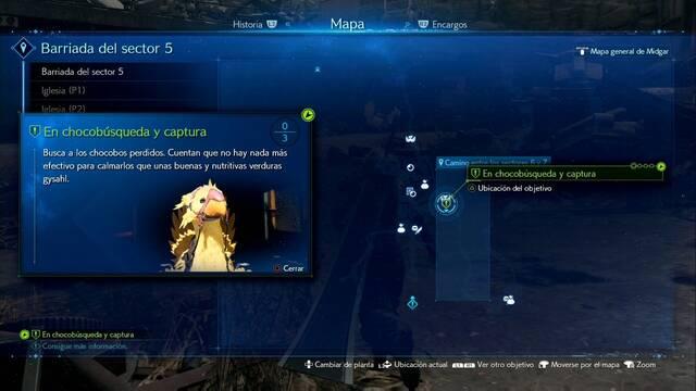 En chocobúsqueda y captura en Final Fantasy VII Remake - Cómo completarla