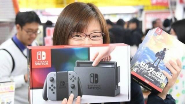 Switch Distribución Japón Agotada