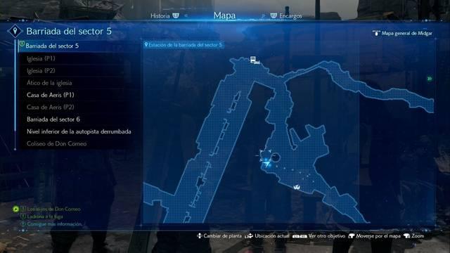 Ladrona a la fuga en Final Fantasy VII Remake - Cómo completarla
