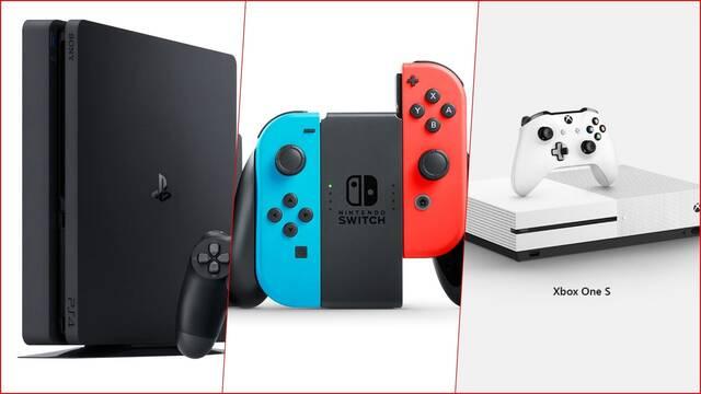 Switch Agotada PS4 Xbox One