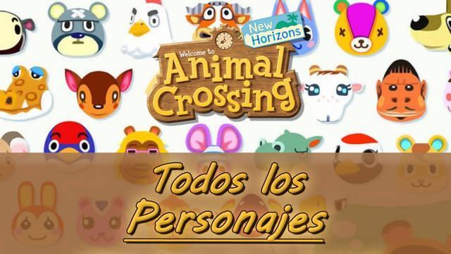 TODOS los vecinos de Animal Crossing: New Horizons - Tipos y personalidades