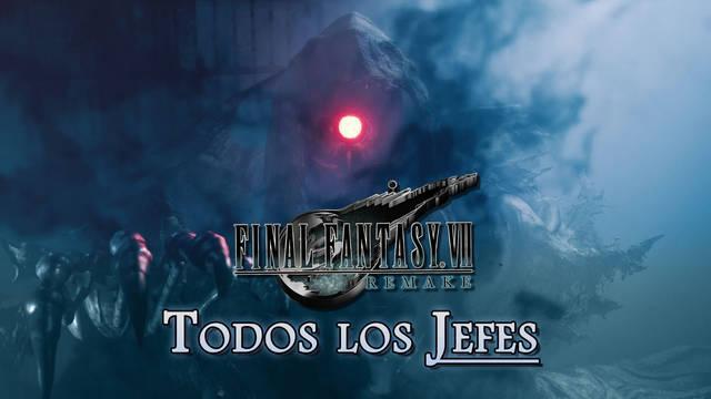 TODOS los jefes de Final Fantasy VII Remake y cómo derrotarlos
