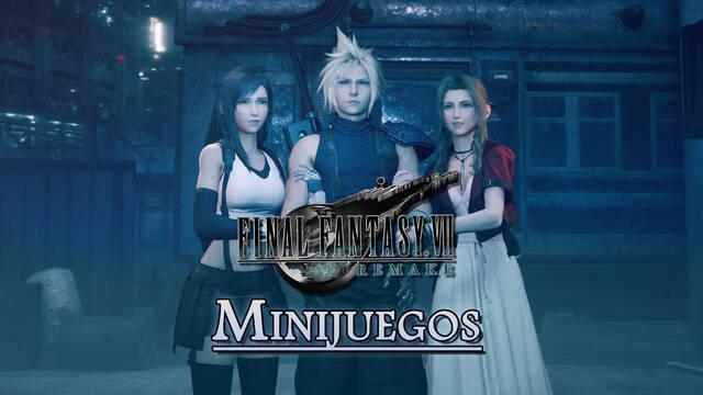 TODOS los Minijuegos de Final Fantasy VII Remake y cómo completarlos