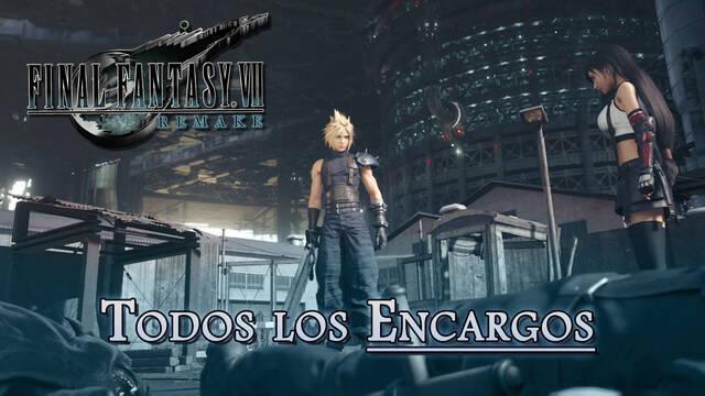 Final Fantasy VII Remake: TODOS los Encargos y cómo completarlos